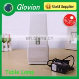 Glovion touch led lamp for sleeping led desk wooden lamp new style alarm clock
