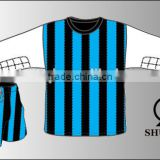 Hot selling new trend football uniforms for teams/youth football uniform/wholesale soccer man fitted tracksuit