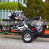 Best Aluminum Folding Motorcycle Single Rail Utility Trailer For Sale