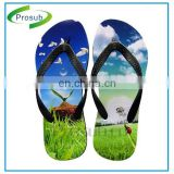 custom design sublimation heat transfer printing slippers