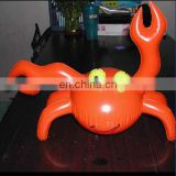 PVC inflatable crab shaped toy