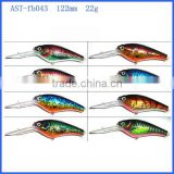 swimming well LED fishing lure with high quality