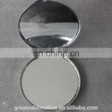 sublimation blank makeup double sided mirror
