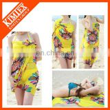 bright printed teenage girl beachwear