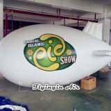 White Helium Balloons Inflatable Blimp Advertising Air Zodiack for Outdoor Event