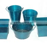 Blue Nursery Pots- Assorted designs and shapes hot selling dollar item
