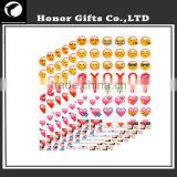 Mobile Phone Funny Eco-friendly Popular Emoji Stickers Cheap