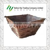Flower basket Hanging basket Baskets wholesale Plant pot Woven basket