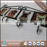 sublimation blank wrought iron wall hook