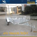 galvanized Utility Dump trailer / ATV Log trailer