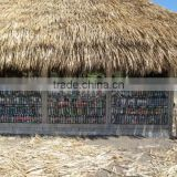 material PVC synthetic thatch roof