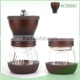 New Arrival Manual Coffee Grinder With Top Lid
