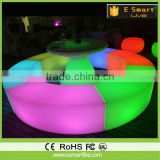 OUTDOOR PLASTIC FURNTURE/ OUTDOOR BAR FURNITURE/ LED CHAIR
