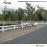 2014 best selling top quality two rail horse fencing