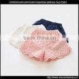 Wholesale Baby Girls Lace Sequin Cotton Shorts Childrens Boutique Clothing
