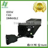 HID Electronic Ballast 1000W Dimmable hps mh With Cooling Fan Original Manufacturer