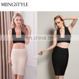 Western latest fashion women bodycon dress sexy bandage skirt for club night girl