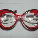 red frame <b>plastic</b> <b>party</b> <b>glass</b>es
