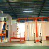 aluminum profile wood grain powder in powder coating machine