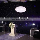 led star curtain stage