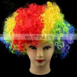 Funny Clowns human Hair Wig for party