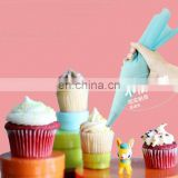 Reusable silicone pastry cream bag for cake decorate