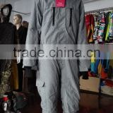 Fashion warm mens one piece ski suit