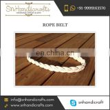 Gorgeous Nautical Woven Rope Belt for Sale by Indian Manufacturer