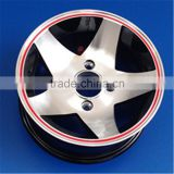 Latest design deep dish 18x 12j 14j alloy rims wheels 5x114 4x114