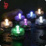 flower shaped mini cr2032 operated submersible tea light