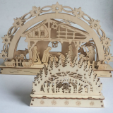 wood craft Christams craft home decoration