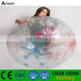 Clear PVC inflatable beach ball inflatable water ball inflatable pool ball