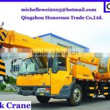 4x4wd big 12 ton truck crane truck mounted crane for sale