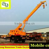Famous brand 12t truck mounted crane manufacturer in China (ce/iso)