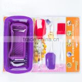 Kids funny silicone baking set decorative cupcake bake set