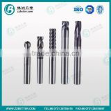 2 flutes ball nose end mill