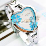 wholesale china trendy elegant 2014 newest heart shape friendship bracelet watch