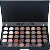 Wholesale 40 COLORS Matte Eyeshadow Palette Black Packing