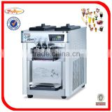 Counter top Stainless steel Soft ice cream maker BQL-838T TEL: 0086-13632272289