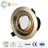 10W KB-DL008 Golden commercial led C0B downlight