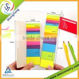 Fancy colorful memo pad/ sticky note pad Customizable wholesale hot selling
