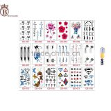 Waterproof Custom Non-toxic Fashion Sexy Hand Body Temporary Tattoo Sticker