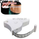 60 Inch Retractable Tape Measure Clip Cloth Sewing Tailor Ruler Fancy 1.5m