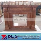 French style marble fireplace mantel price