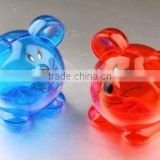 Wholesale plastic cute mouse shape coin bank