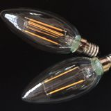 C35 LED Filament Bulb 2W/4W/6W base on E14/E27/B22
