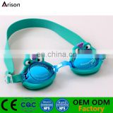 Cartoon Animal Frog Anti-Fog Lens Swimming Goggles Swimming Glasses For Children