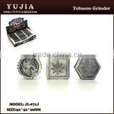high quality Alibaba China Suppliers Smoking Accessories Small Herb Grinder Price wholesale tobacco herb grinder JL-060J