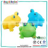 Eco-friendly small rubber animal toys rubber frog toy
