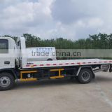 JZZ5080TQZ 4x2 RHD flatbed road car tow towing truck for sale